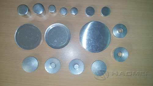 Circle aluminum alloy slug alloy disc