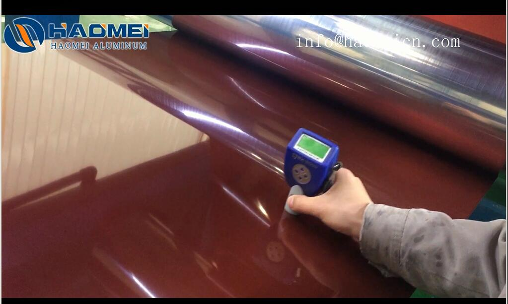 How to Measure Coated aluminium sheet Thin Film Coating  Thickness