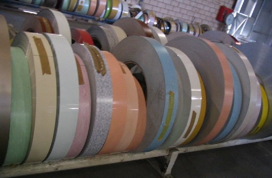 Color coated aluminium strips