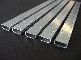 hollow glass aluminium strip